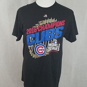 NEW Majestic 2016 Cubs World series Champions MLB